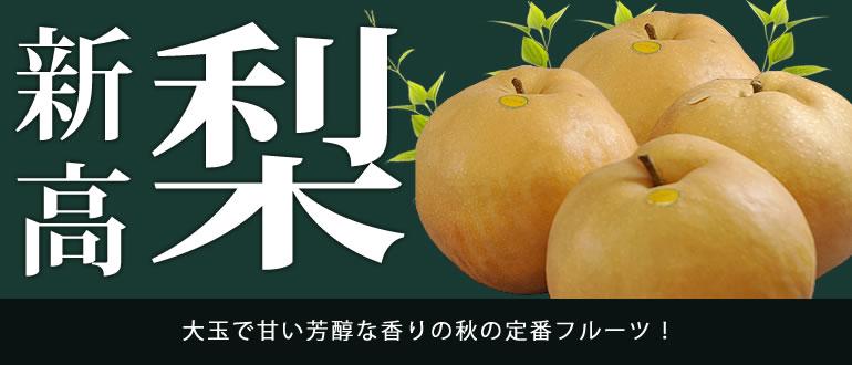 大玉で甘い芳醇な香りの秋の定番フルーツ!